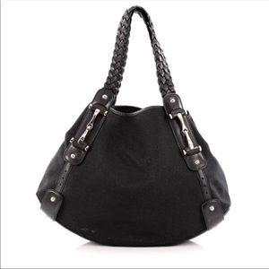 Gucci Pelham black hobo bag